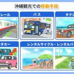 沖縄を観光する前に知っておきたい!沖縄での交通手段!
